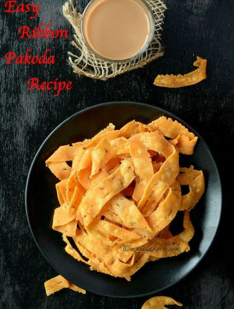 Easy Ribbon Pakoda Recipe Ribbon Murukku