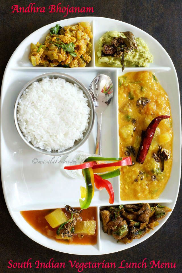 South indian vegetarian lunch menu 2 andhra lunch menu masalakorb south indian vegetarian lunch menu andhra bhojanam forumfinder Choice Image