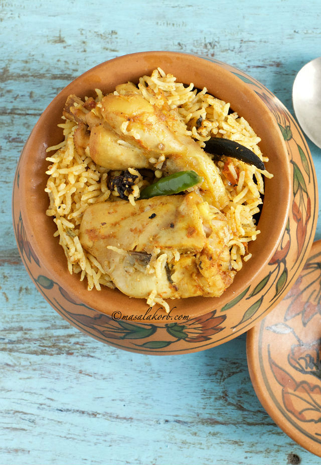 Chicken biryani pressure cooker recipe south indian masalakorb chicken biryani pressure cooker recipe south indian forumfinder Gallery