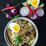 Mutton Biryani Recipe South Indian Style | Cooker Mutton Biryani | Mutton Biryani Recipe Andhra Style | Quick Easy Mutton Biryani Recipe