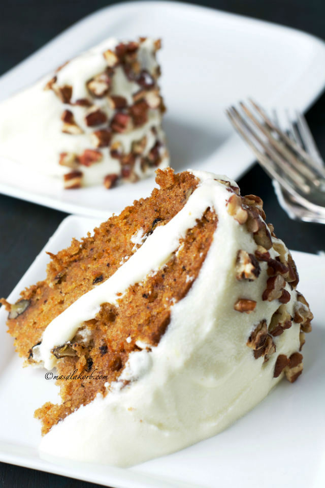 Super Moist Carrot Cake Recipe With Cream Cheese Frosting