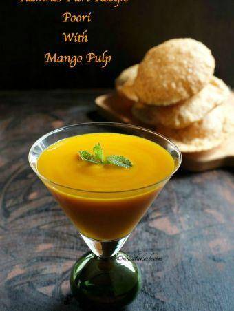 Aamras Puri Recipe, How to make Aamras Poori