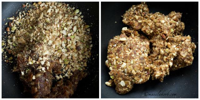 Date Nut Ladoo, Mix Dry Fruit Laddu