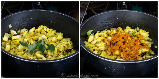 Aratikaya Fry Recipe, Aratikaya Vepudu, Raw Banana Fry