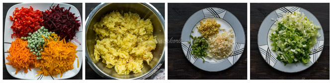 Vegetable Chop Bengali Style, How to make Veg Bullets