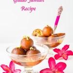 Khoya Paneer Gulab Jamun Recipe | Stuffed Gulab Jamun | Gulab Jamun Indian Sweet | How to make Gulab Jamun from Scratch  | Gulab Jamun With Khoya and Paneer