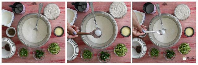 Andhra Challa Punugulu Recipe,
