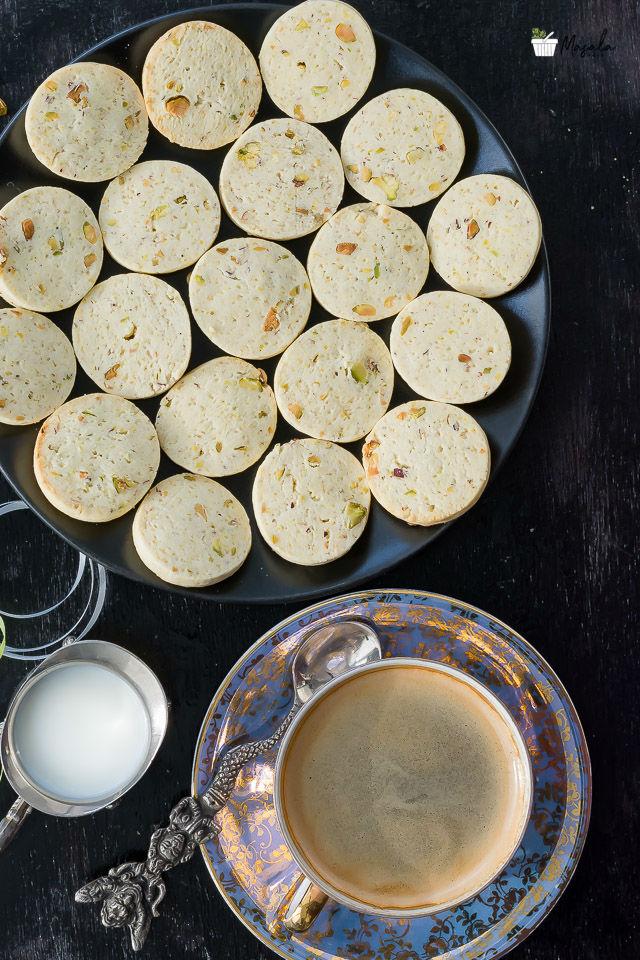 Rose Flavoured Cookies