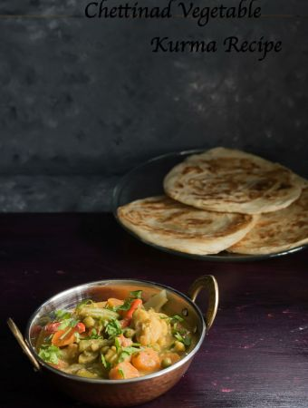 Veg Korma with Coconut Milk
