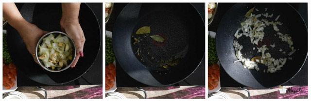 Chettinad Vegetable Kurma Recipe steps