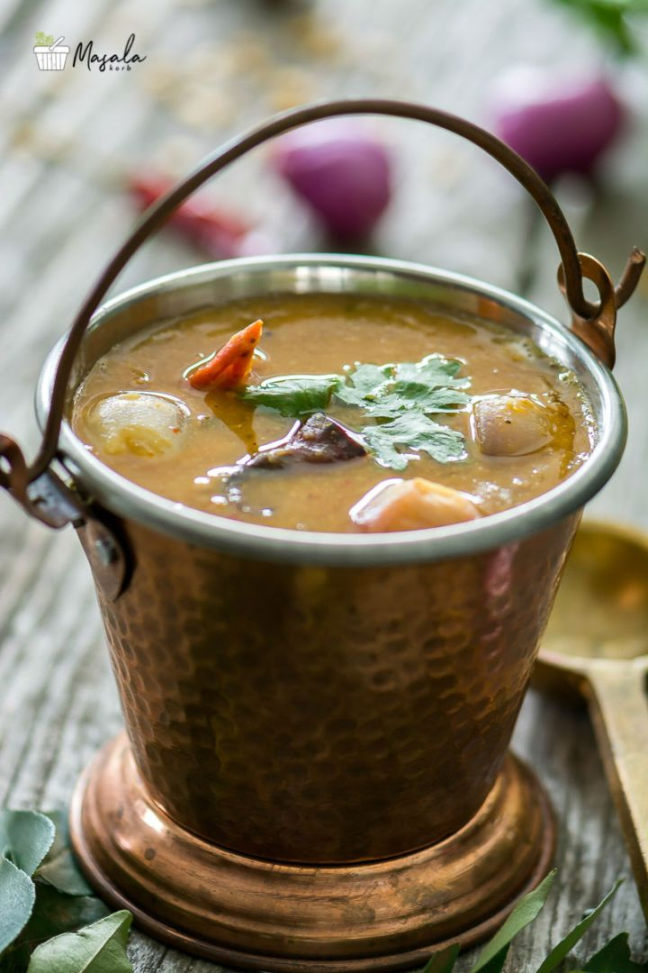 Sambar Recipe With Pictures