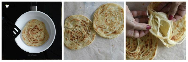 how to make kerala parotta at home easy kerala parotta malabar parotta