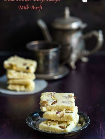 Milk Powder Barfi Recipe