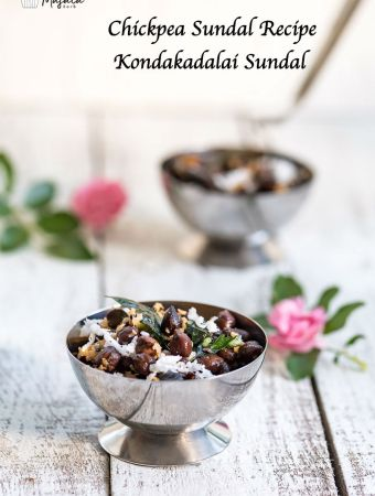 chickpea sundal recipe