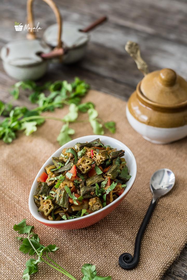 Bhindi Tomato Curry - Bhindi Masala Recipe