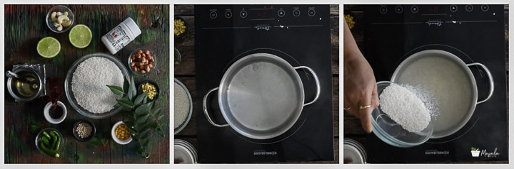 rice cooking step
