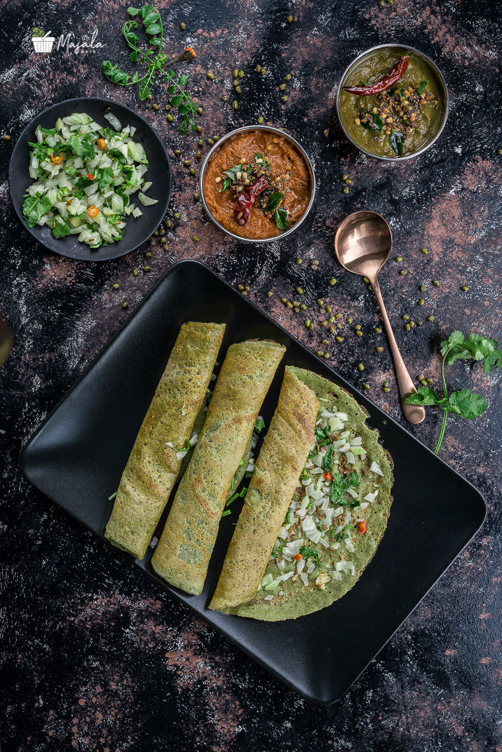 Pesarattu Preparation, Moong Dal Dosa