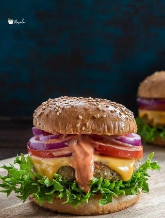 Mcaloo Tikki Burger bun