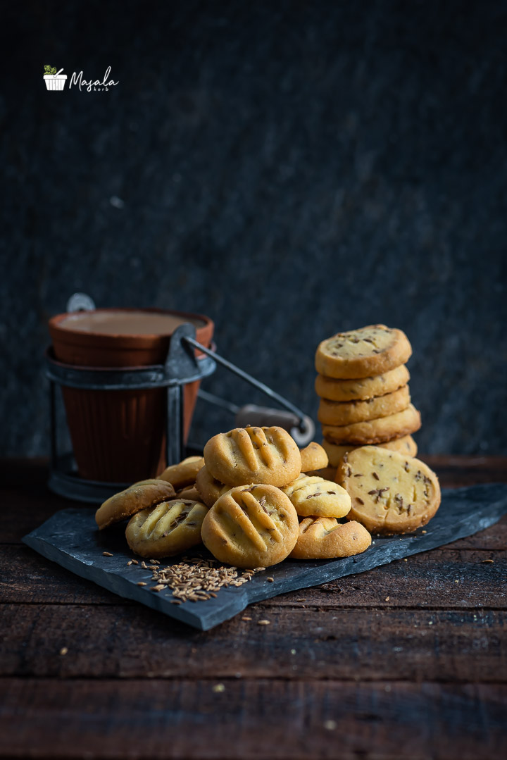 Jeera Biscuits served with tea
