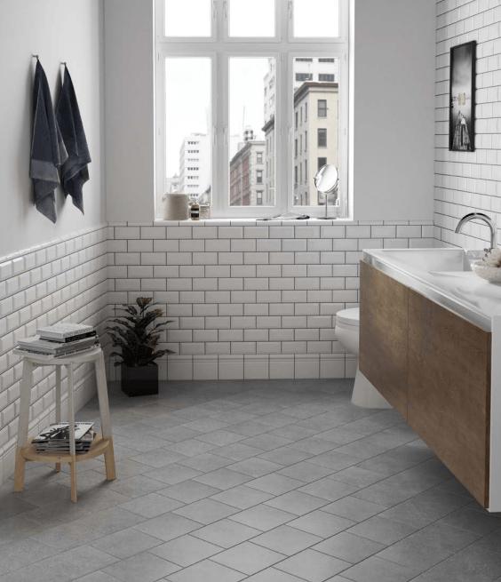 10 idees de carrelage de salle de bain