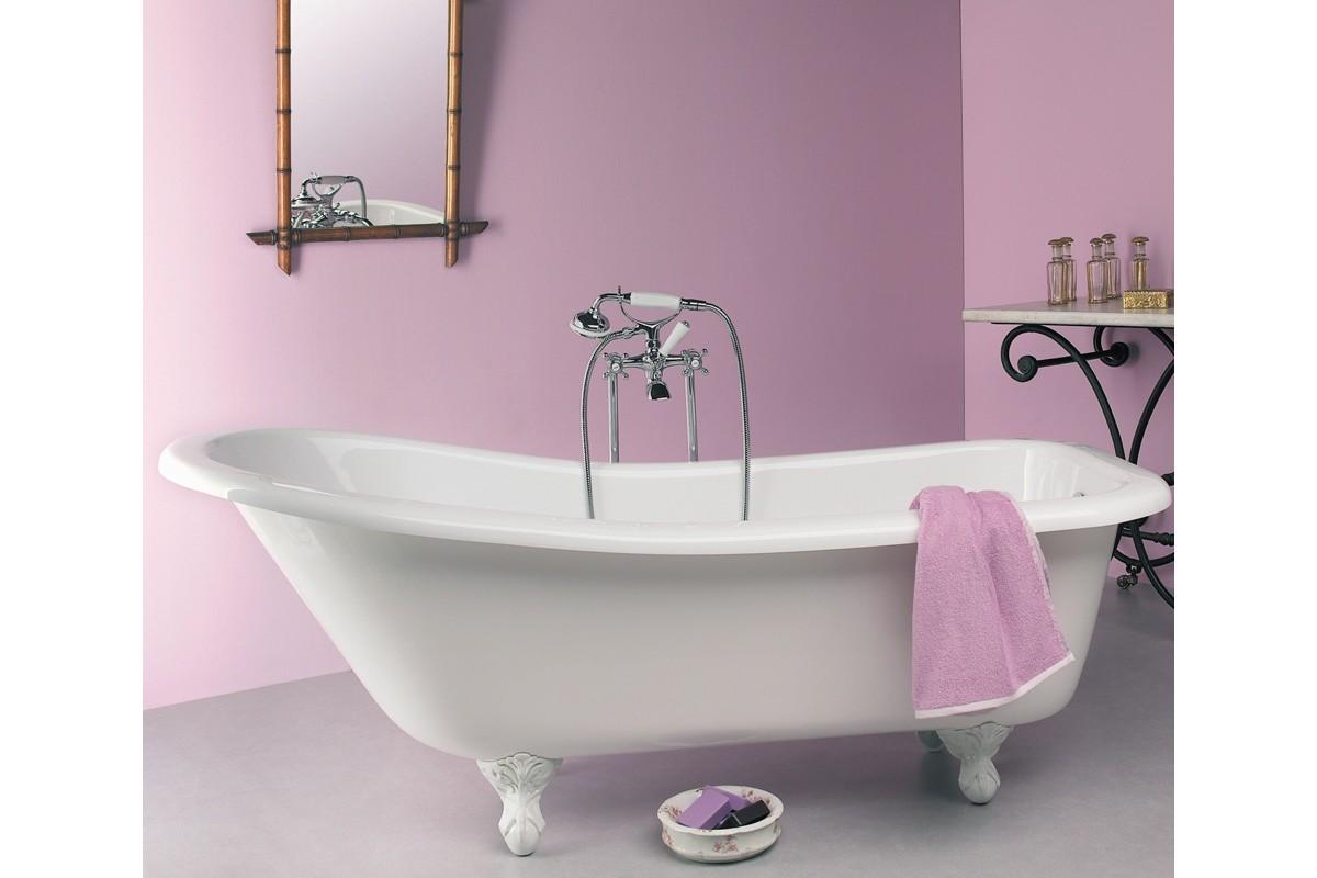 baignoire ilot retro acrylique 176 ambiance
