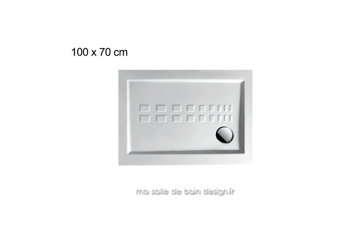 receveur de douche extra plat en ceramique 70x100 cm pdr010 d artceram