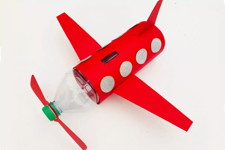 Airplane Craft And Piggy Bank
