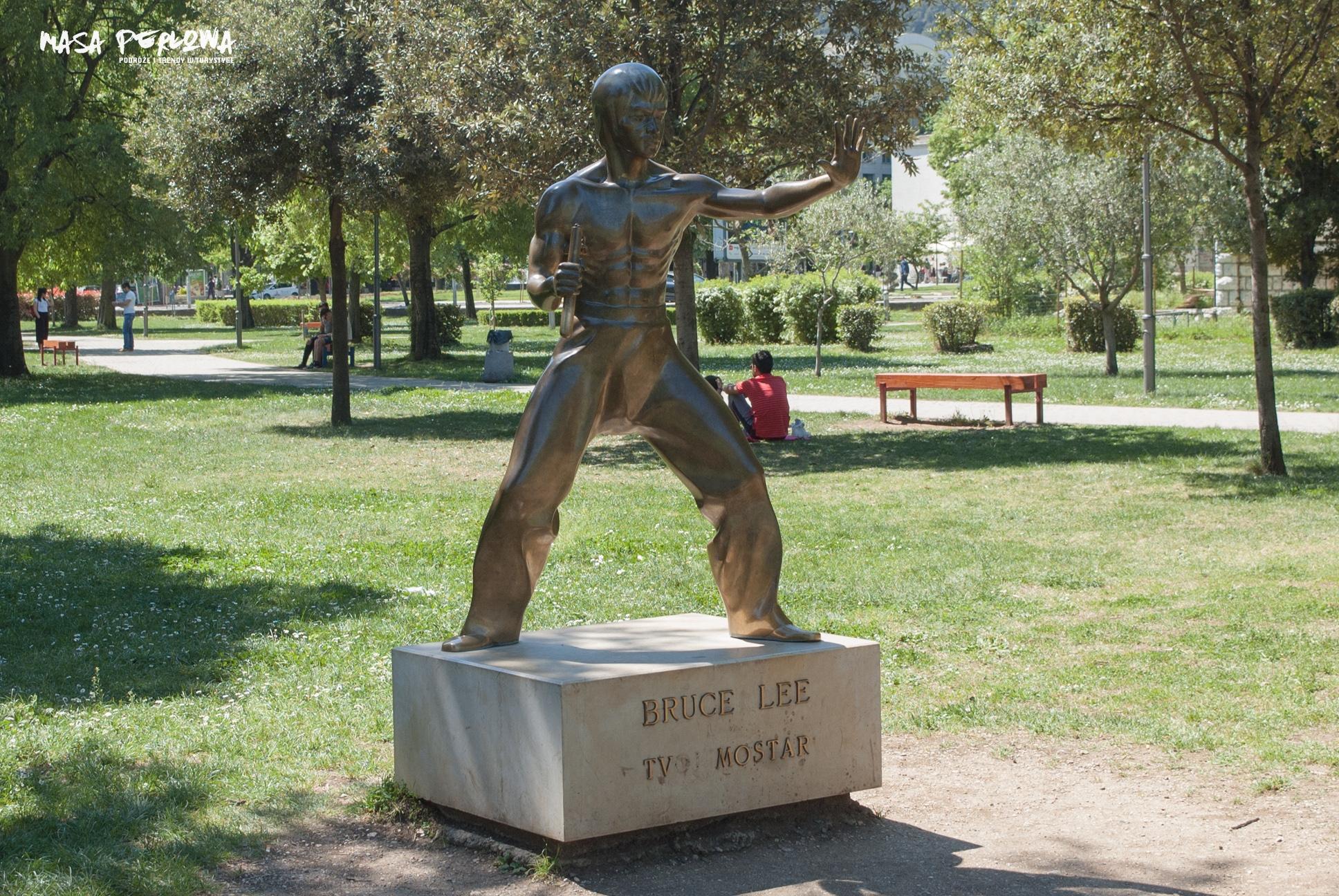 Mostar Bruce Lee pomnik