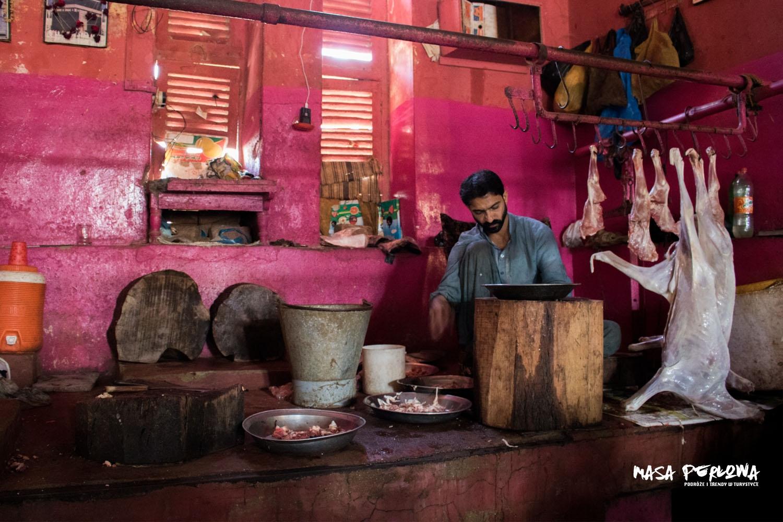 Hyderabad Meat Market Pakistan