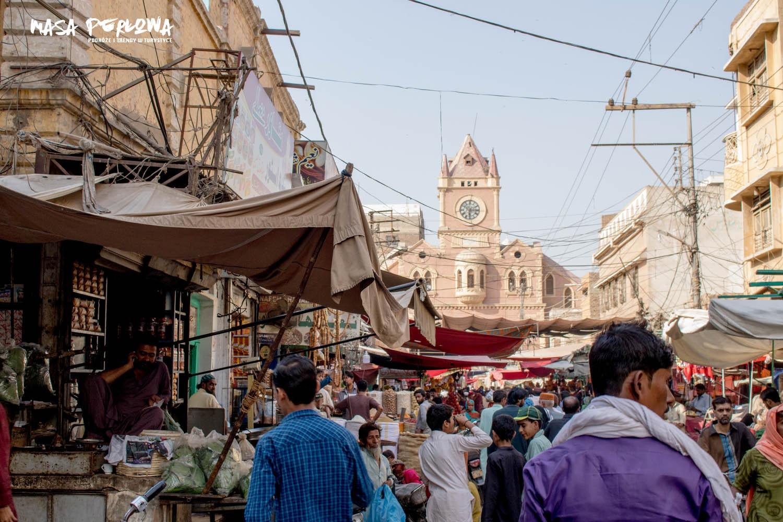 Hyderabad Stare Miasto wieża zegarowa