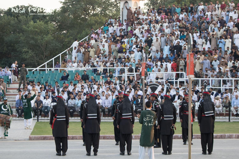 Wagah odniżenie flag Lahaur