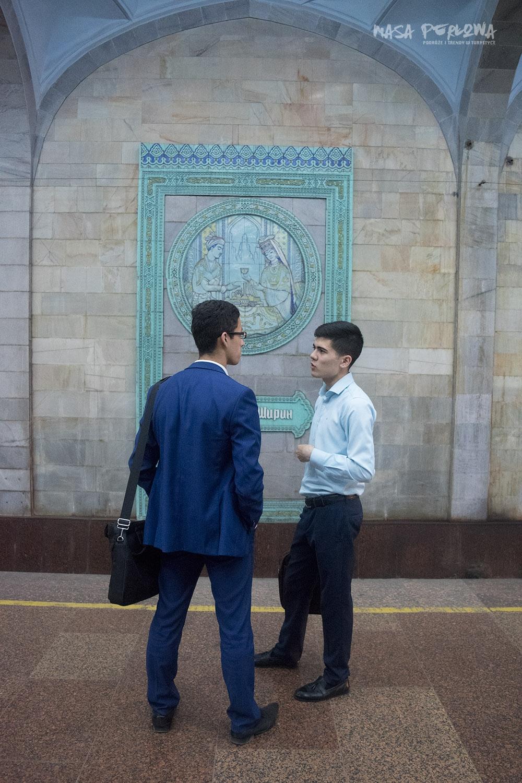 Taszkient Uzbekistan stacja metra