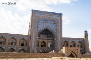 Chiwa Uzbekistan medrasa portal