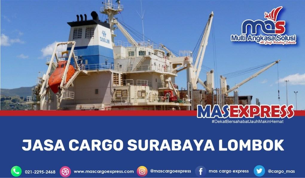 jasa cargo surabaya lombok