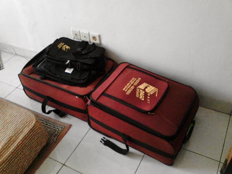 pengiriman koper umroh lengkap