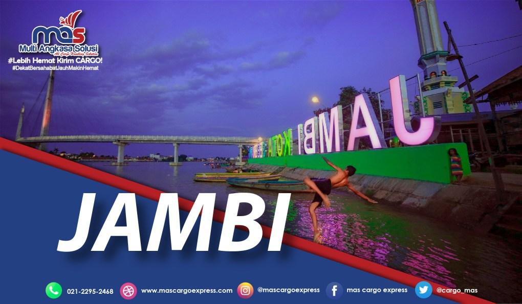Daftar Nama Kota di Jambi