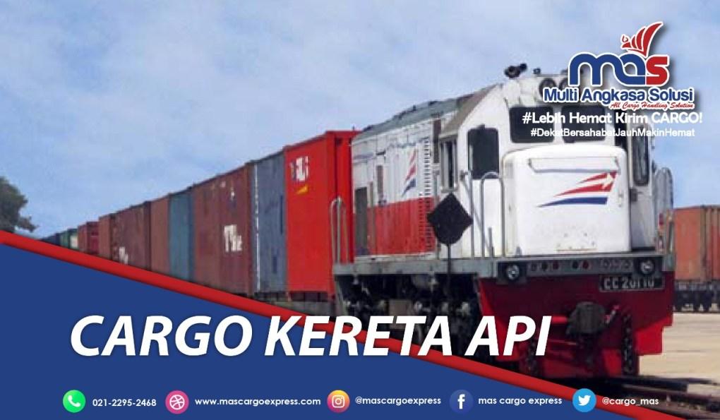 Cargo Kereta Api lengkap