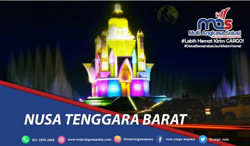 Pengiriman barang Jakarta-NTB terbaik