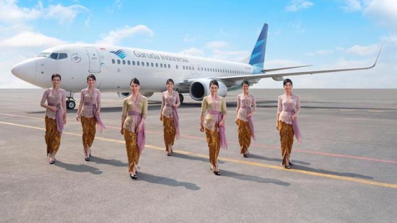 garuda indonesia adalah maskapai penerbangan