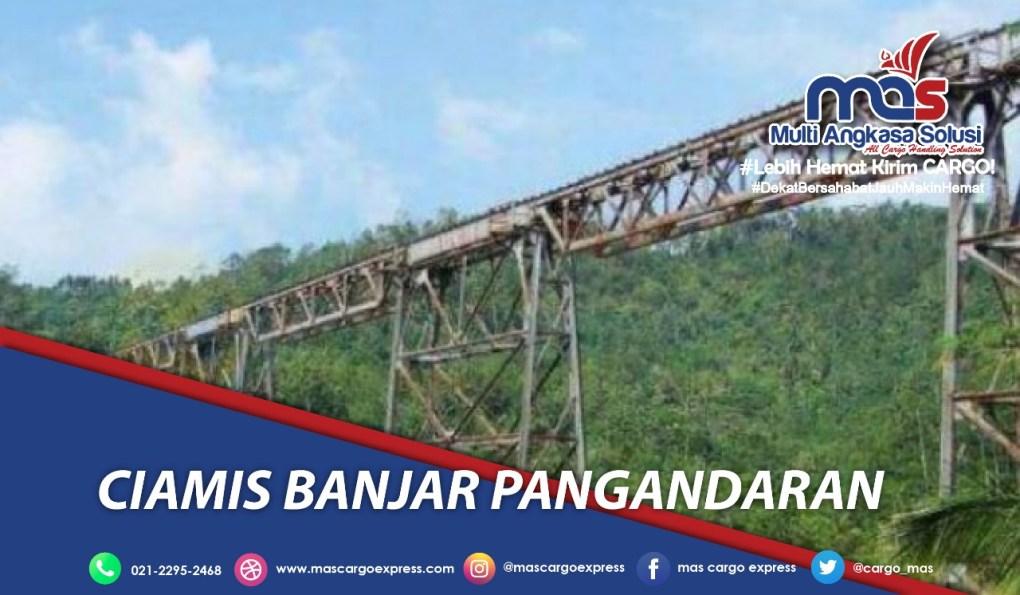 Jasa dan Tarif Ekspedisi Ciamis Banjar Pangandaran murah