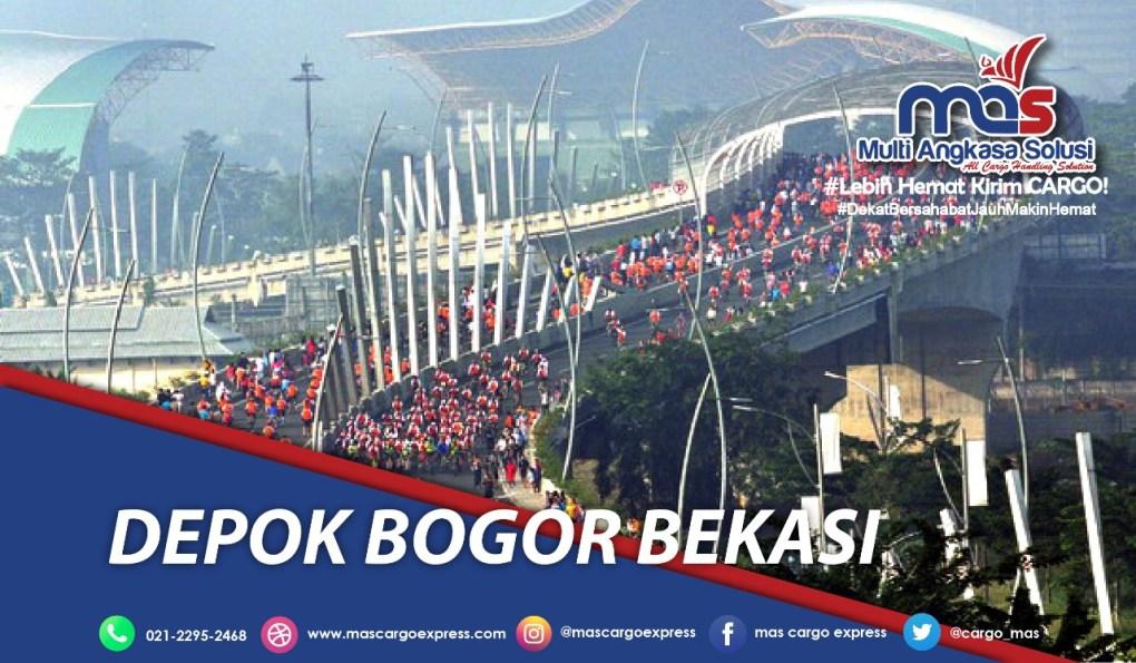 Jasa dan Tarif Ekspedisi Depok Bogor Bekasi