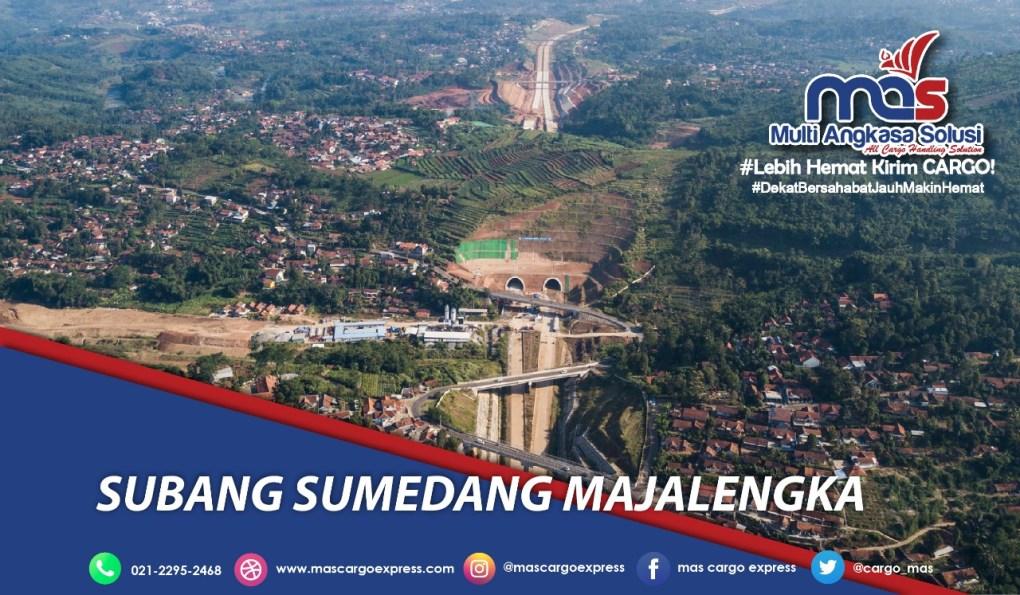 Jasa dan Tarif Ekspedisi Subang Sumedang Majalengka murah