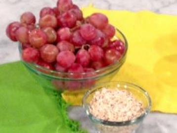 Mascarilla de uva y avena
