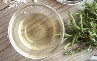 Mascarilla de vinagre blanco