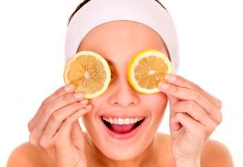 Mascarilla de jugo de naranja