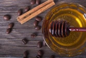mascarilla de miel y cafe