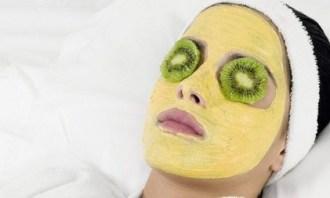 mascarilla de kiwi