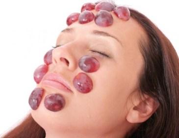 mascarilla de uva