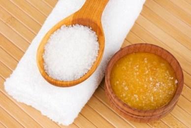 Mascarilla de miel y azúcar