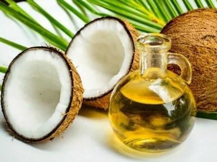 mascarilla de aceite de coco